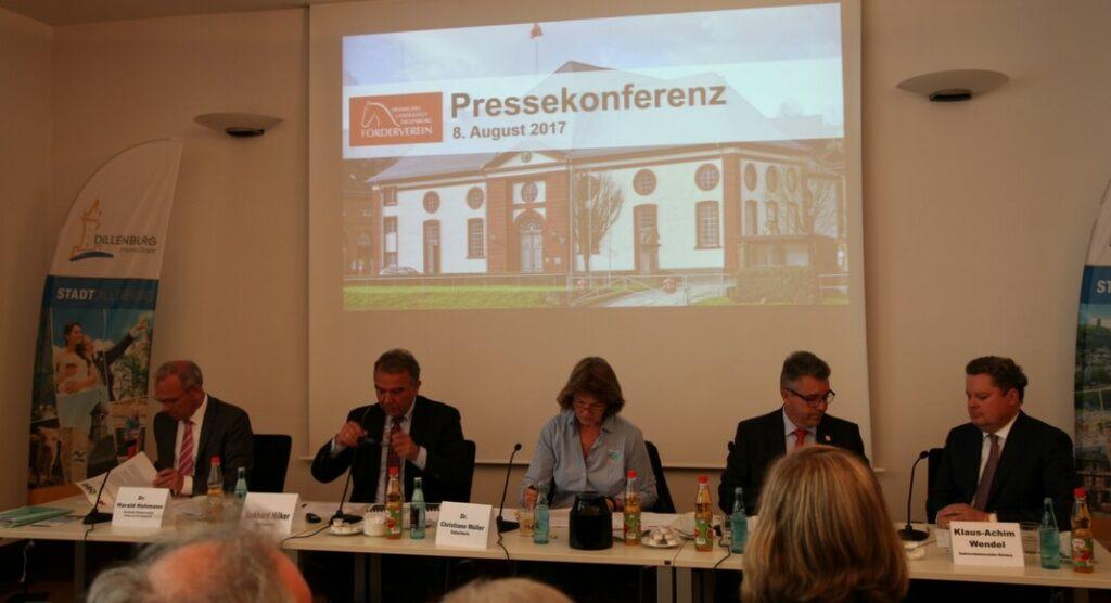 Pressekonferenz Landgestüt Dillenburg