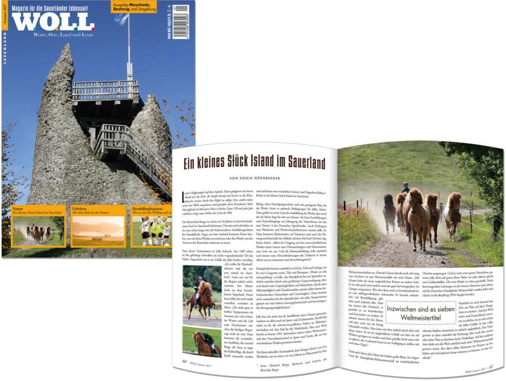 WOLL Cover Erstausgabe Meschede-Bestwig