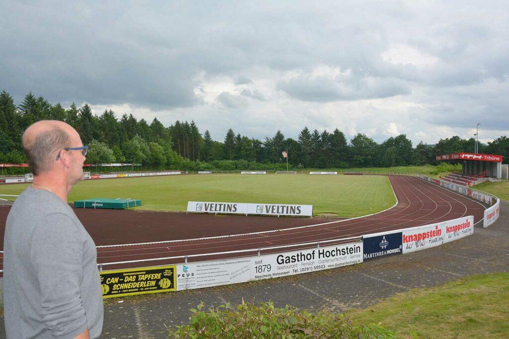 Der SSV Meschede spielt in dieser Saison in der Bezirksliga. Foto: Peter Benedickt