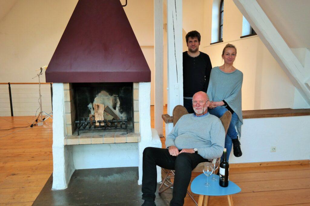 Das Musikerpaar Jorinde Jelen und Tobias Schütte stellten gemeinsam mit Tom Kellersmann vom Kunsthaus Alte Mühle die Konzertreihe