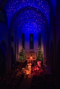 Während des Krippenmusicals herrscht jedes Jahr eine ganz besondere Atmosphäre.