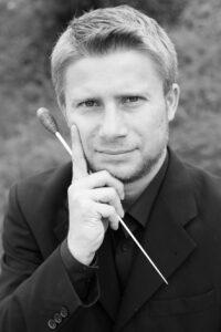 Dirigent des Kreisjugendorchesters des VMB HSK Mathias Pfläging Foto: kreisjugendorchester HSK