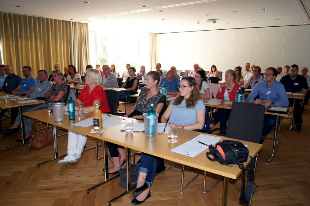 Viele interessierte Besucher beim Social Media Workshop von SUZ und dem Einzelhandelslabor Südwestfalen. Foto: Schmallenberg Unternehmen Zukunft e.V.