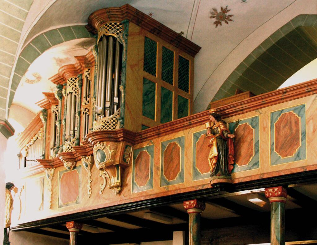 Eversberg - Kirche -Orgel