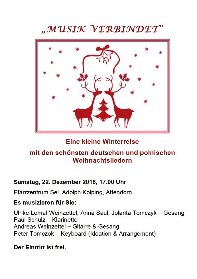 Polnische Weihnachtslieder Texte.Advent Angekommen Deutsch Polnisches Konzert In Attendorn