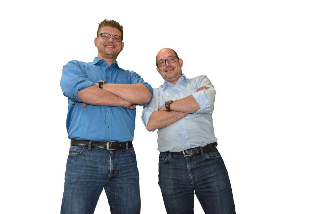 Sven Daum (li) und Stefan Schöttler von Optimondo