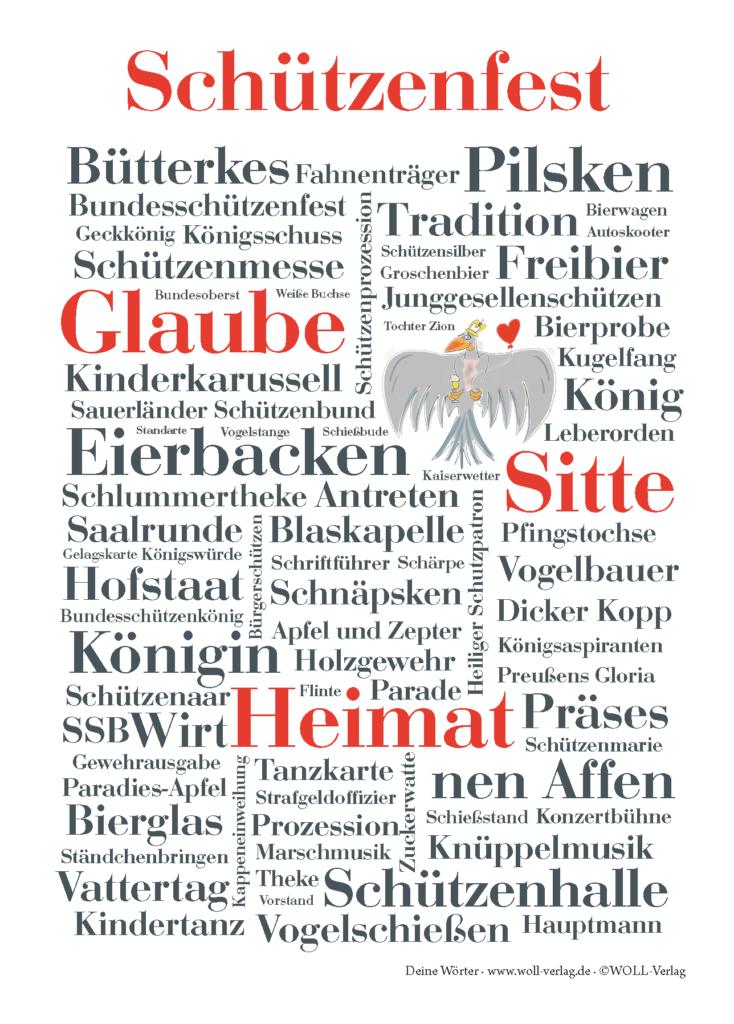 Schützenfest-Postkarte