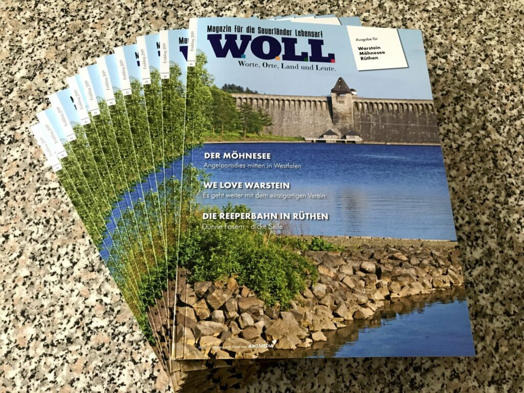 WOLL Magazin Ausgabe Frühling 2019 für Warstein - Möhnesee Rüthen
