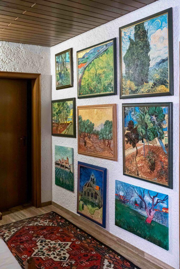 Hobby van Gogh -Ferdinand Schulz aus Eversberg malt Werke des berühmten Niederländers