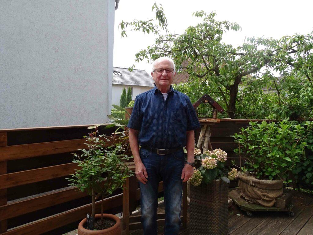 Willy Reinsch (80) genießt die Balance zwischen Entspannung und Aktivität