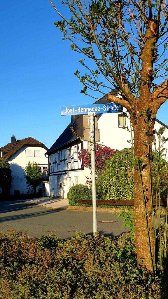 Jost-Hennecke-Straße -Wer war das eigentlich… Jost Hennecke? Viele Mescheder Straßen wurden nach verdienten Bürgern benannt