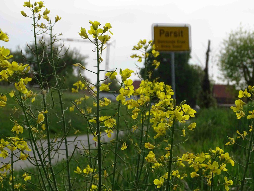 Idyllisch gelegen zwischen Feld und Flur, bietet Parsit viele Möglichkeiten zum Abschalten und Ruhe fi nden.
