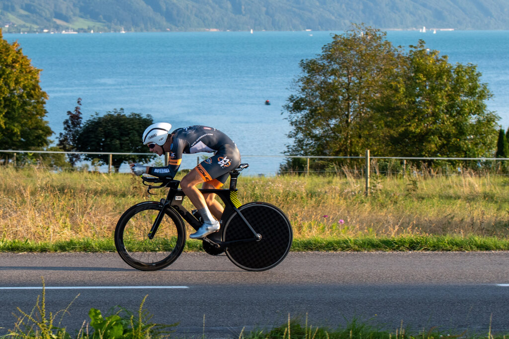 Julian Braun siegt beim King of the Lake Zeitfahren in Österreich