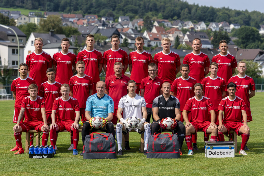 Mannschaftsfoto Fußball 2020/21