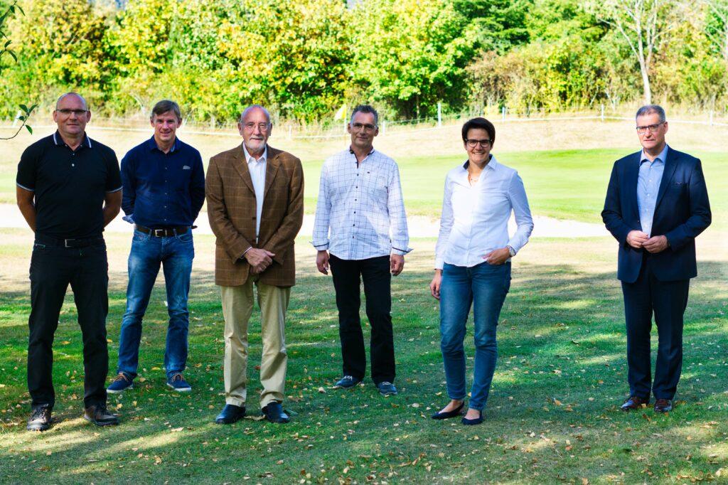 von links nach rechts: Jürgen Boch, Thomas Burmann, Dieter Köhler, Edmund Schulte, Verena Schmidt, Peter Temmhoff