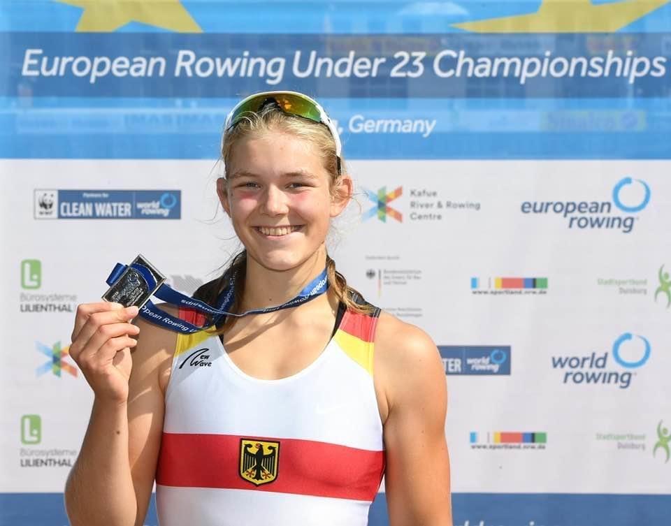 Vize-Europameisterin bei den U-23 Europameisterschaften in Duisburg Foto: Katrin Föster
