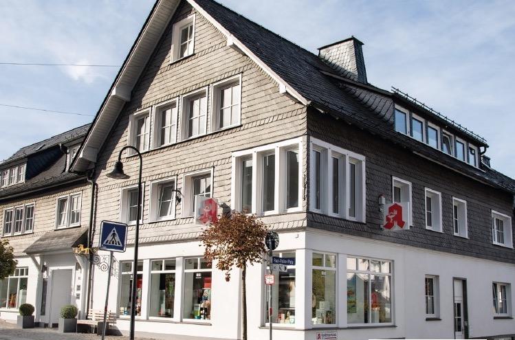 Die Löwenapotheke in Schmallenberg.