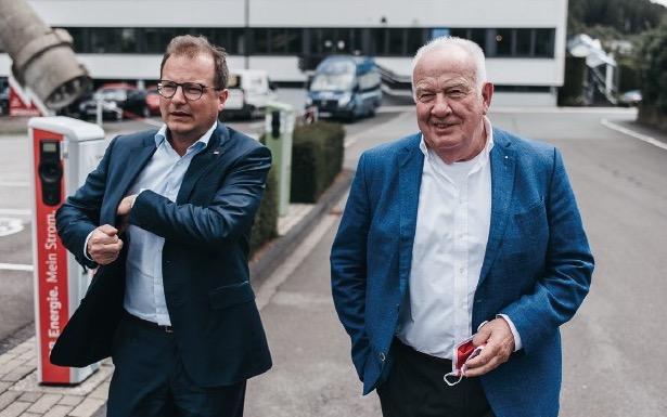 Christopher und Walter Mennekes Foto: Christopher Reuter