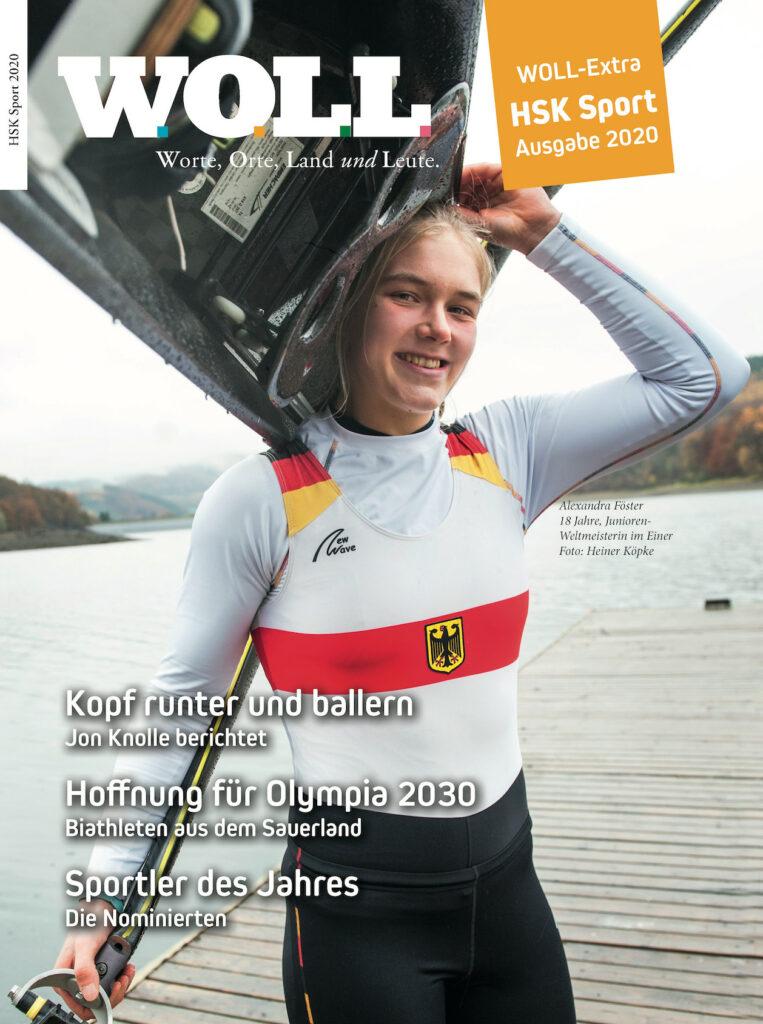 Neues WOLL Sportmagazin - HSK Sport 2020