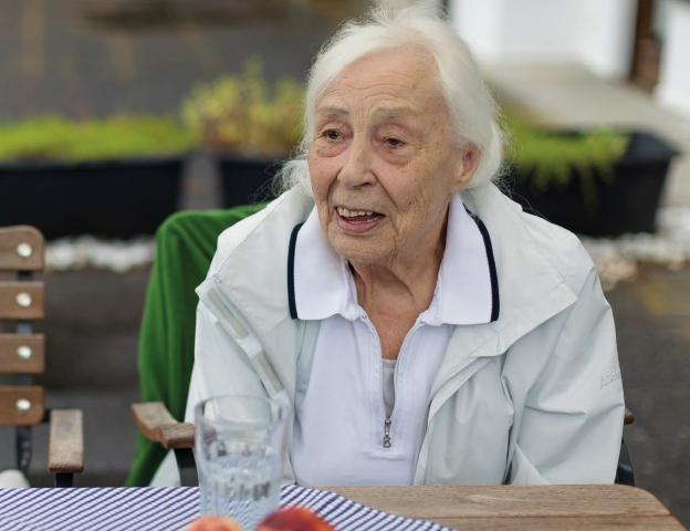 Köchin Christa Schneider war jahrelang die Küchenchefin im Waldhaus Ohlenbach.
