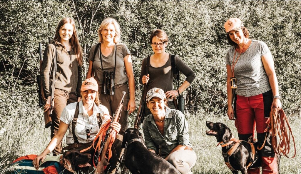 Jägerinnen im Sauerland