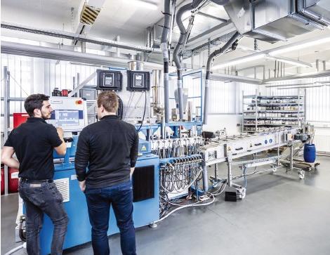 Compoundieranlage zur Herstellung von umweltfreundlichen Kunststoffen