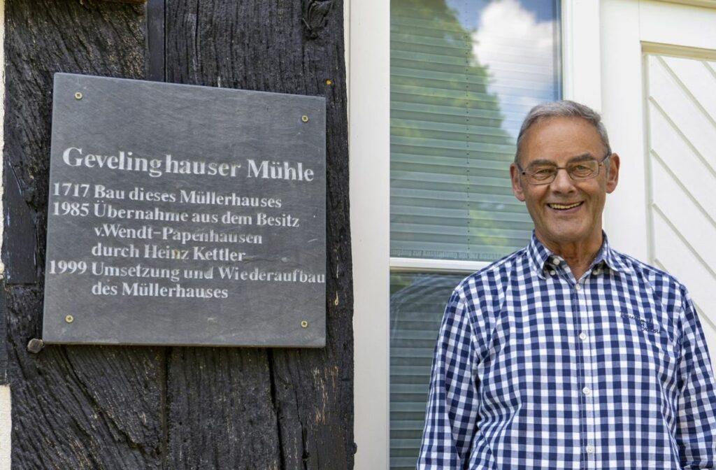 Ortsvorsteher Bernhard Vorderwülbecke. Foto: S. Droste