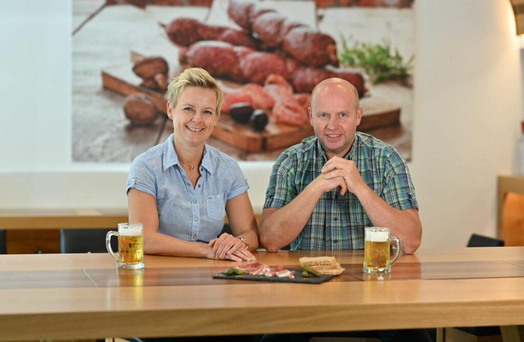 Ruth und Hans-Jörg Scharfenbaum stehen mit ihrem Namen für Handwerk und Qualität. Foto: Jürgen Eckert