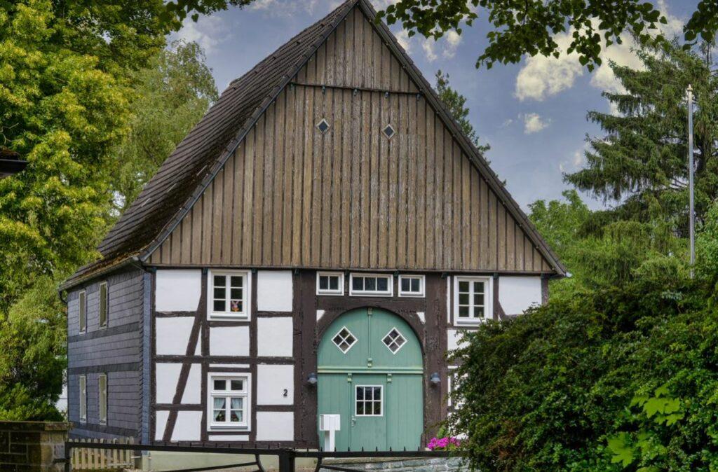 Das alte Küsterhaus. Foto: S. Droste