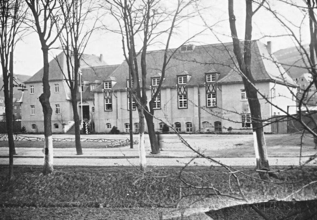 Das Carl-Mosters-Haus früher. Foto: privat