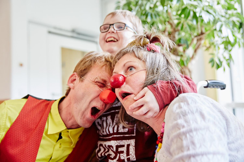 Leben und Lachen stehen im Kinder- und Jugendhospiz Balthasar im Vordergrund (Foto Kathrin Menke)