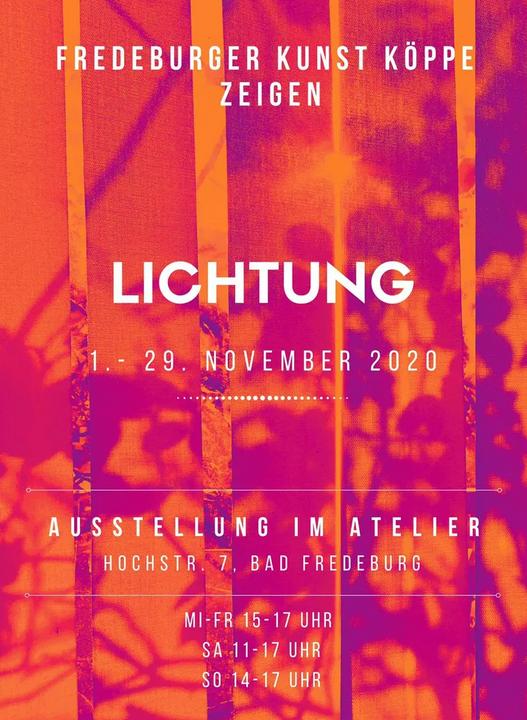 Ausstellung LICHTUNG