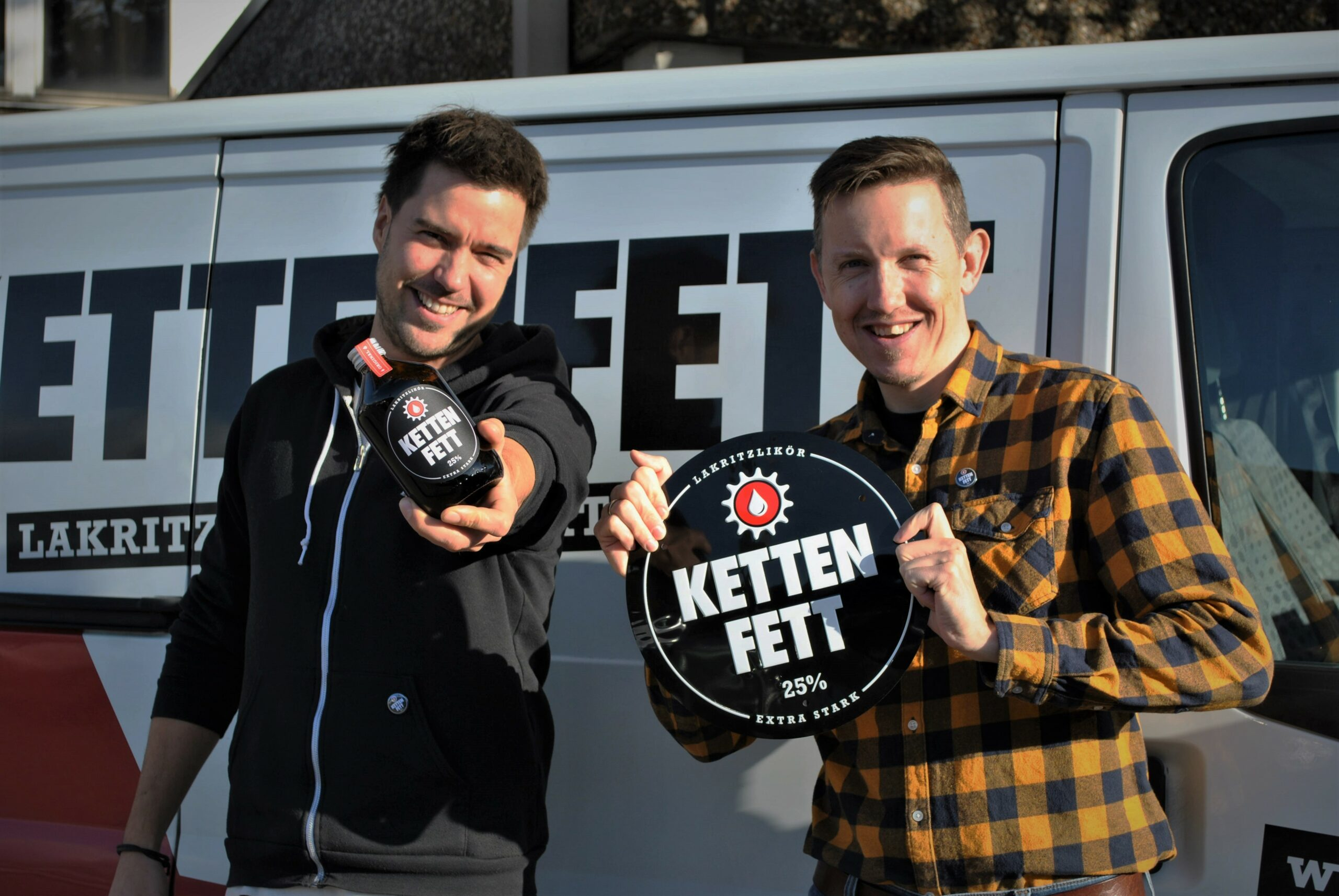 Matthes Schauerte und Jens Peter Vente. Foto: Sonja Nürnberger