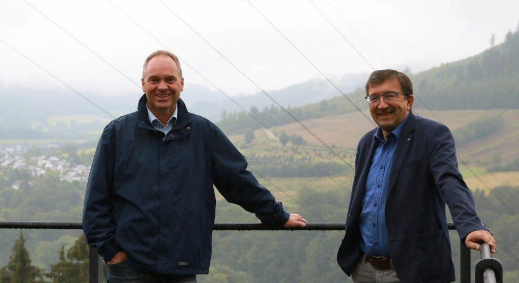 Christoph Rosenau und Siegfried Müller. Foto: Iris Böning