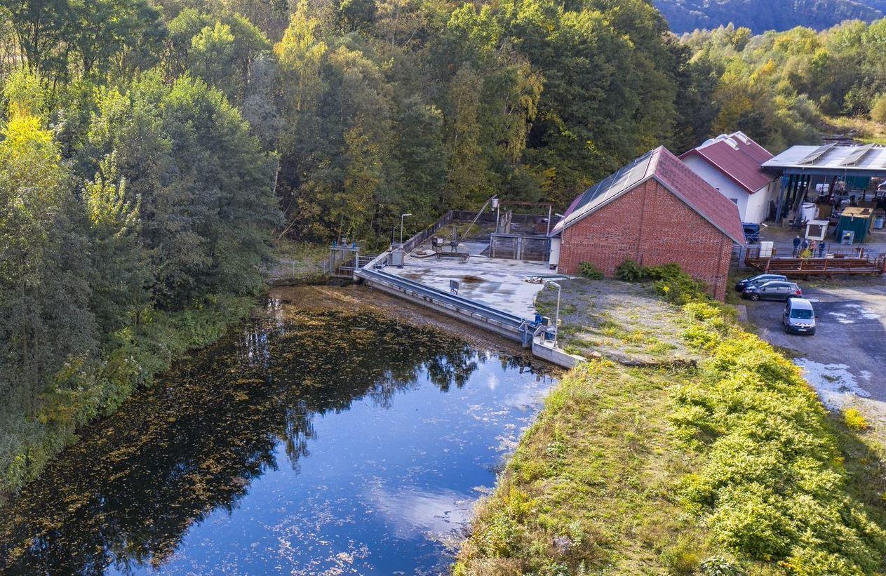 Das Kraftwerk in Wildshausen. Foto: S. Droste