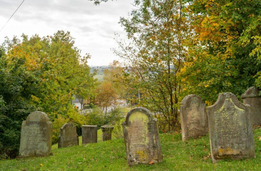 Jüdischer Friedhof. Foto: S. Droste