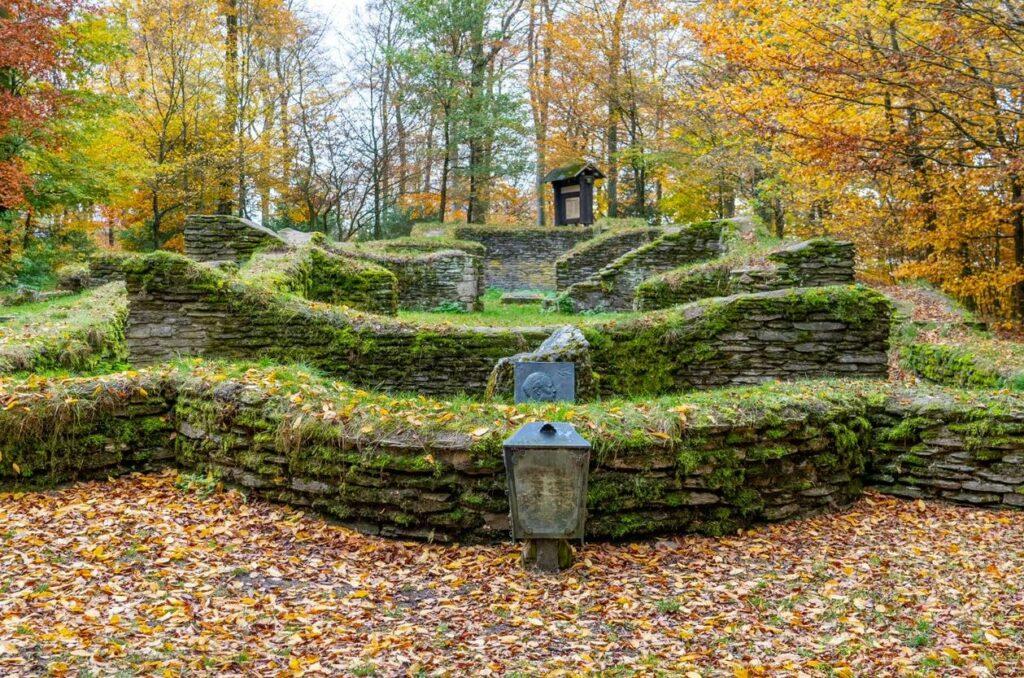 Ruine. Foto: S. Droste