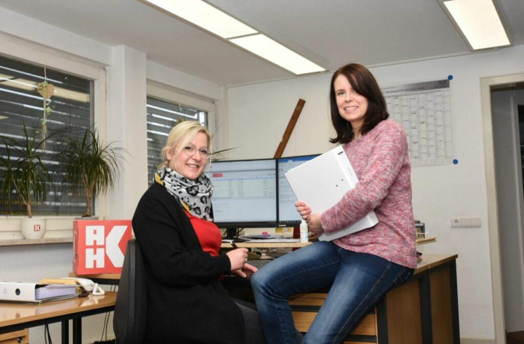Melanie Gundlach und Diana Jacob. Foto: Jürgen Eckert