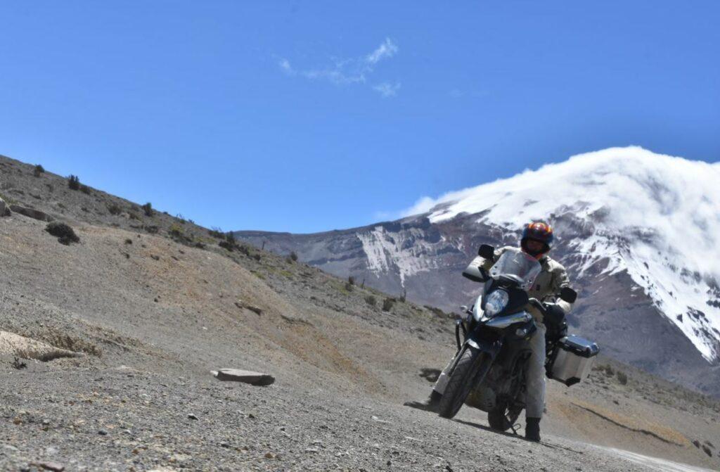 Lavafeld am Chimborazo in Ecuador, wo schon Humboldt unter der Höhenkrankheit litt