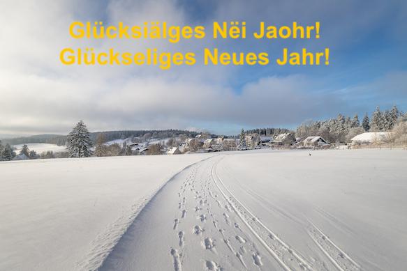 Glückseliges Neues Jahr Foto: Heidi Bücker