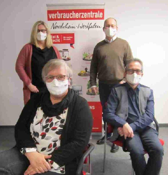 Das Team der Verbraucherzentrale in Arnsberg