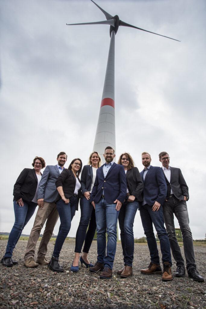 Das Team der Abteilung Erneuerbare Energien