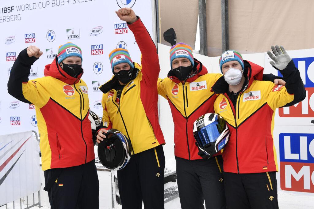 Francesco Friedrich gewinnt den Weltcup in Winterberg 2021