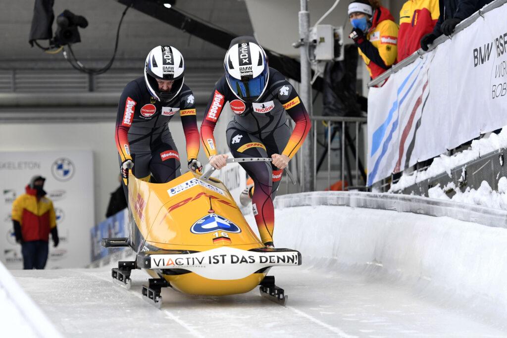 Kalicki-Strack - 2er Bob-Frauen - Weltcup Winterberg 2021