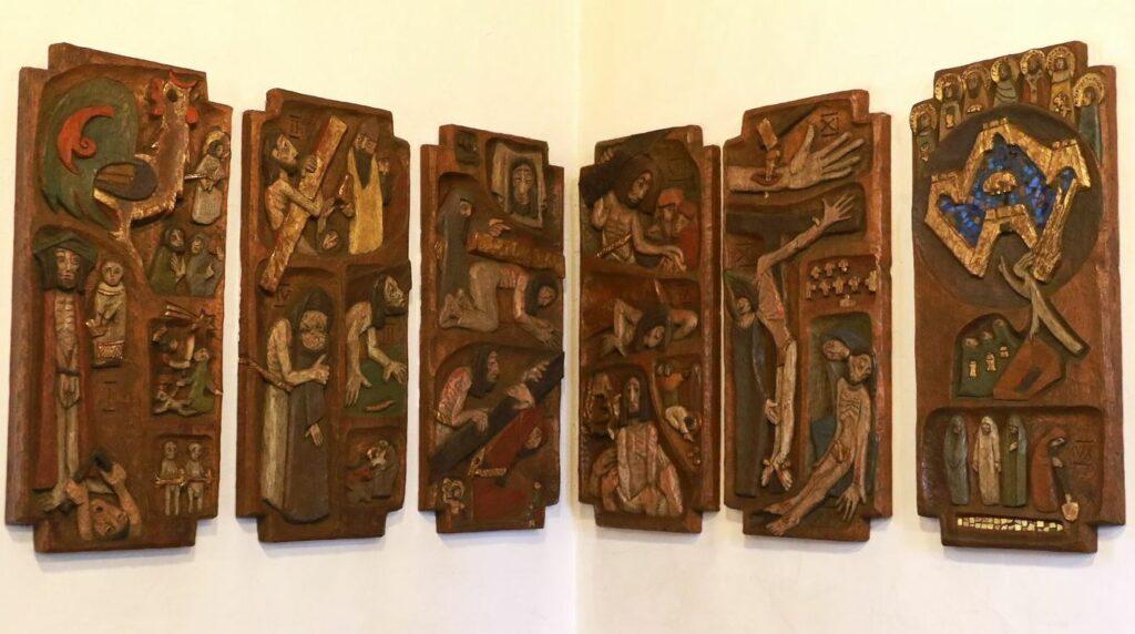 Die Reliefs stammen ebenfalls von Ernst Subert