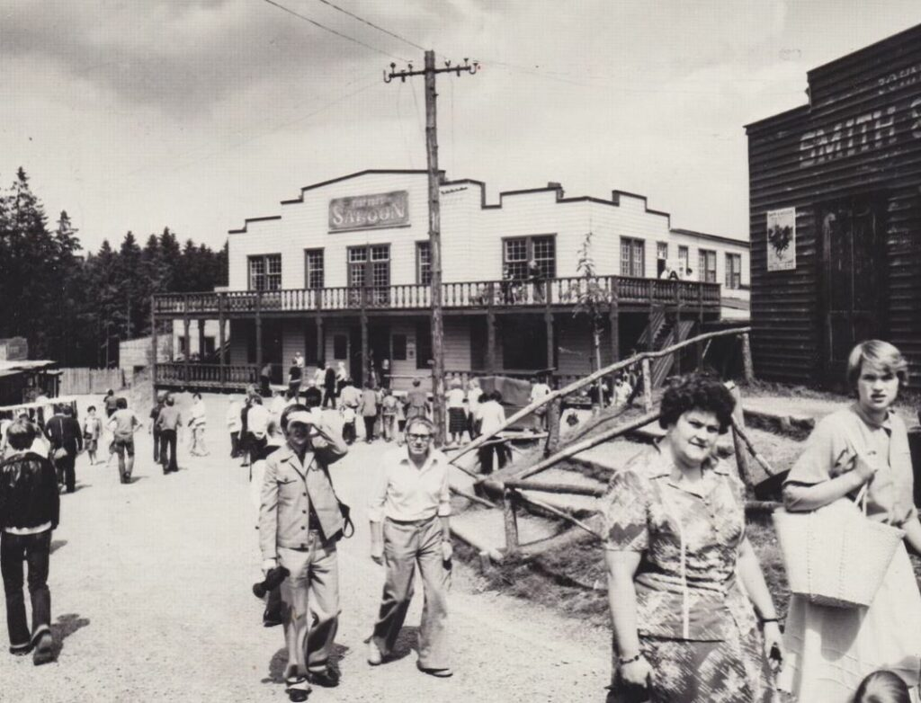 Die damals neue Westernstadt
