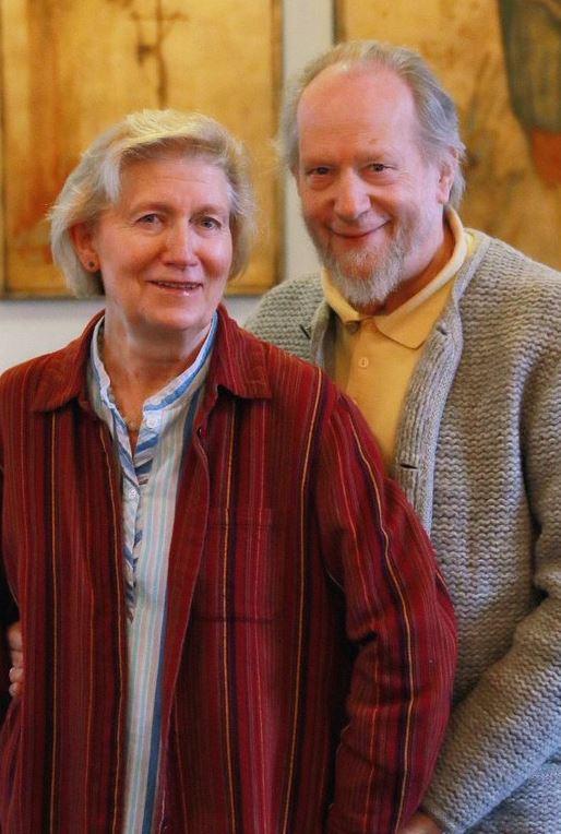 Judith Mendel-Koch und ihr Mann, der Kunsthistoriker Herbert Johannes Koch