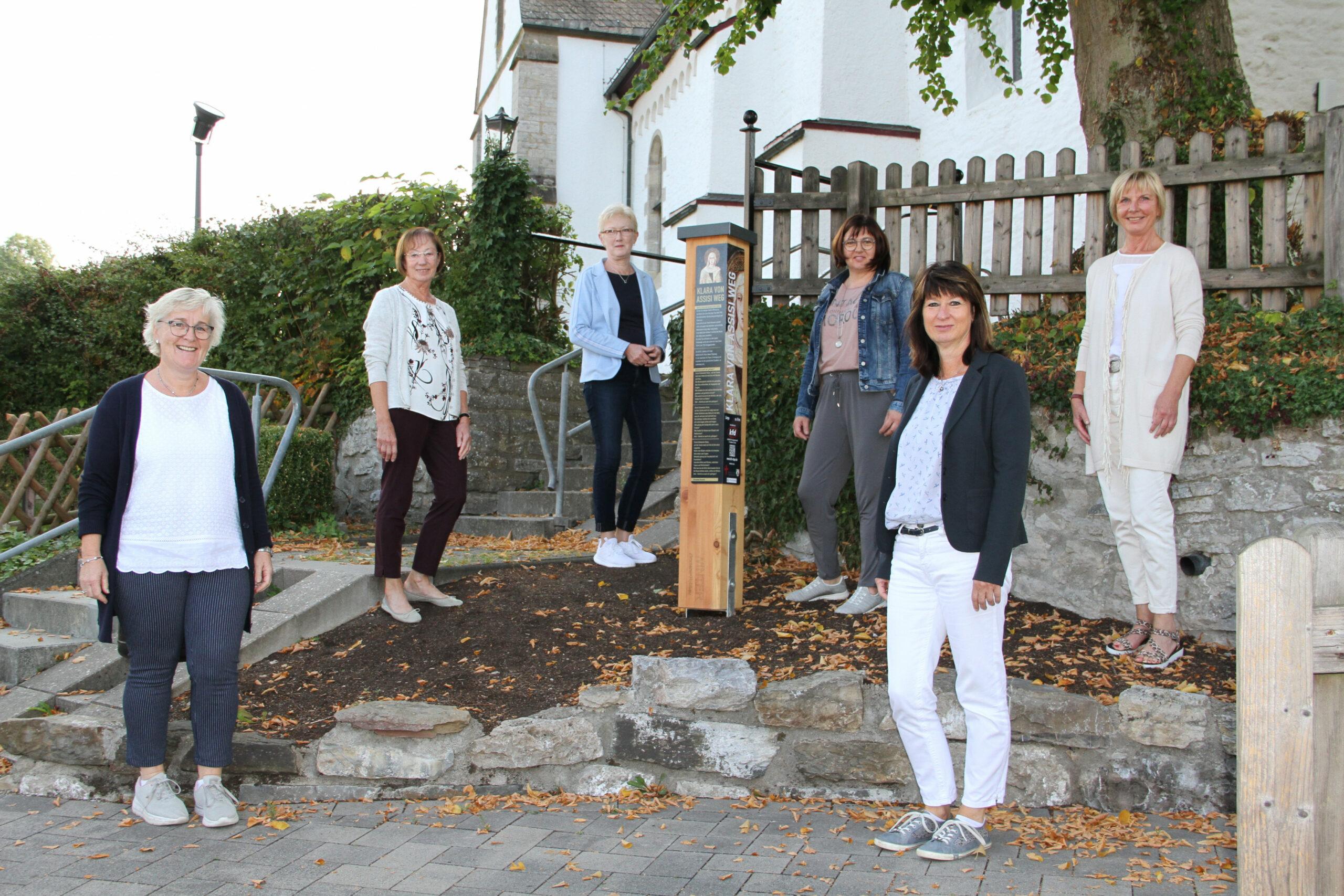 Pia Wipper, Elisabeth Schmittgens, Dorothea Happe, Birgit Geuecke, Birgit Halbe und Barbara Sonntag