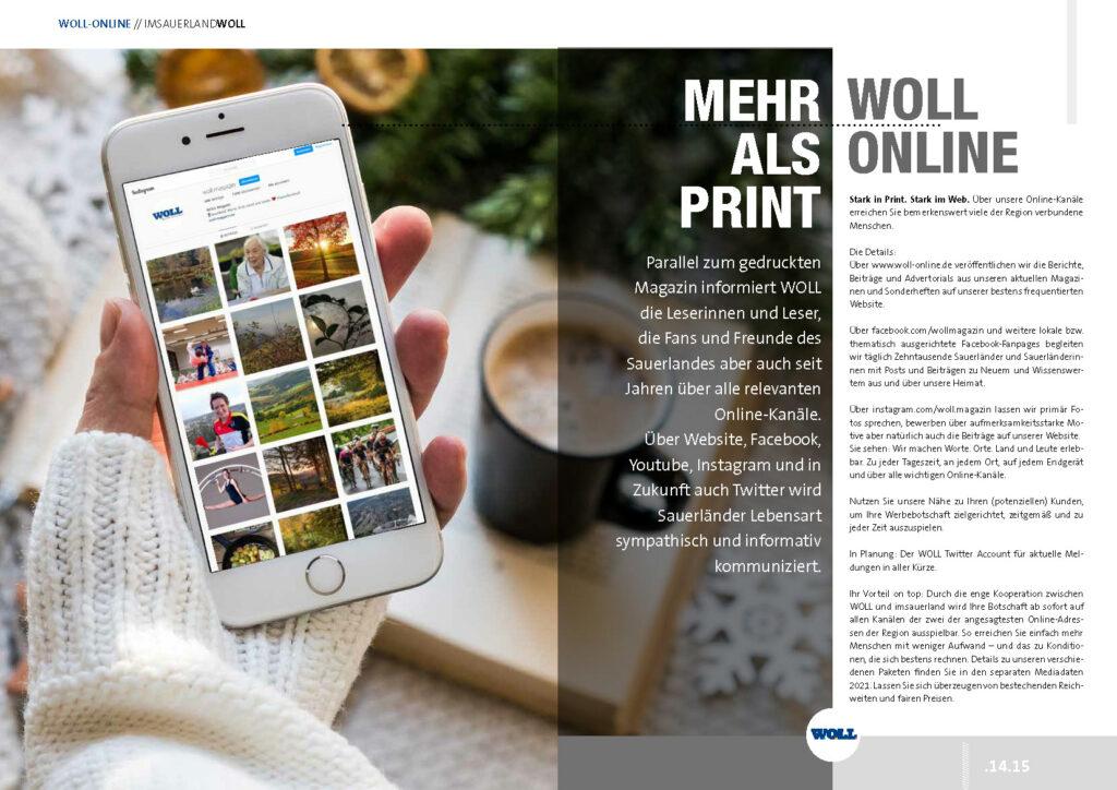 Mehr als Print WOLL Online