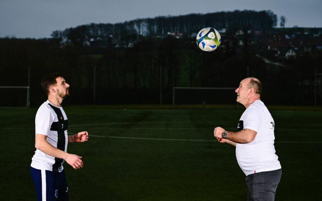 Jetmir Avdylay und Shaban Celiku beim Training